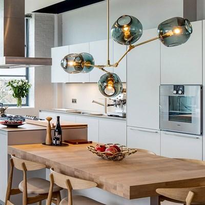 Лучшие дизайнерские светильники для кухни