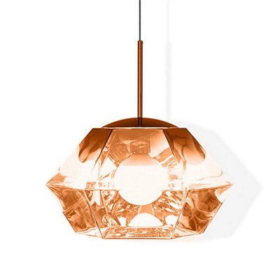 Светильник Cut Short Pendant Copper by Tom Dixon