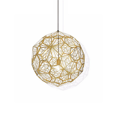 Светильник Etch Web Gold by Tom Dixon D50