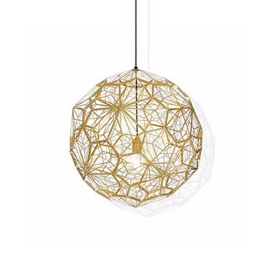 Светильник Etch Web Gold by Tom Dixon D60