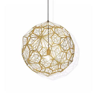 Светильник Etch Web Gold by Tom Dixon D80
