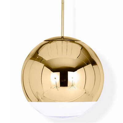 Светильник Mirror Ball Gold by Tom Dixon D40