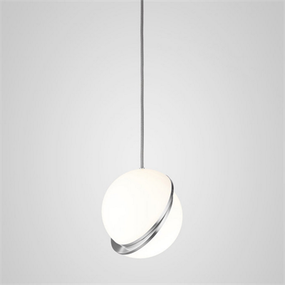 Crescent Light by Lee Broоm  D25 Chrome