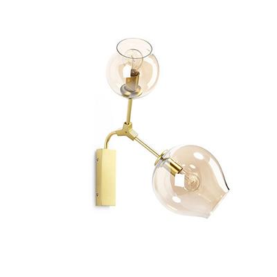 Светильник настенный Branching Bubbles 2 золото