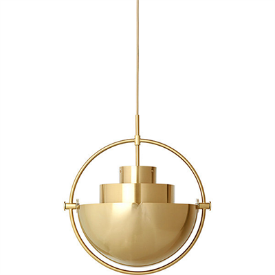 Gubi Multi-lite Pendant Gold