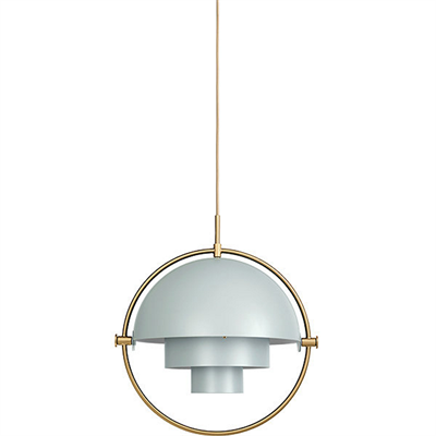 светильник Gubi Multi-lite Pendant Sea Grey