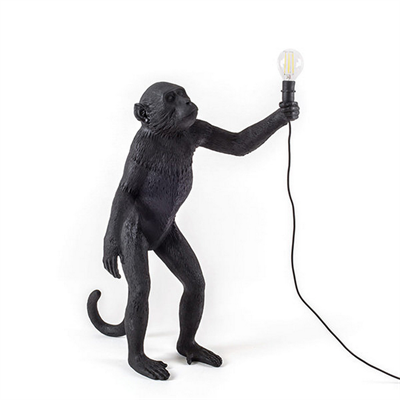 Торшер Seletti Monkey Black Floor Lamp