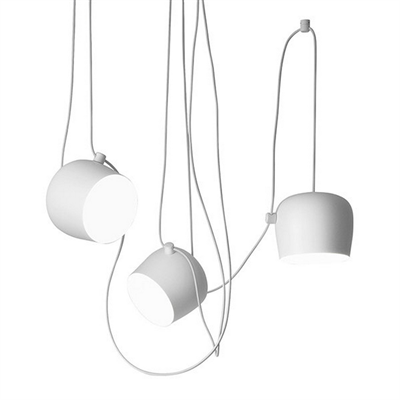Светильник подвесной Flos Aim 3 White by Ronan & Erwan Bouroullec