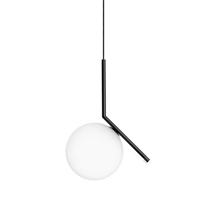 Светильник Flos IC Lighting S2 Black Pendant Lamp by Michael Anastassiades