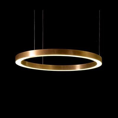 Henge Light Ring Horizontal D80 Copper