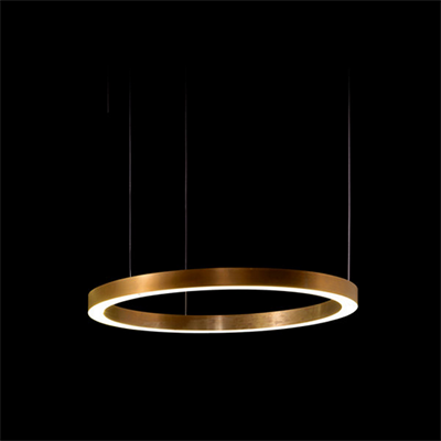 Круглая люстра Henge Light Ring Horizontal D50 Copper