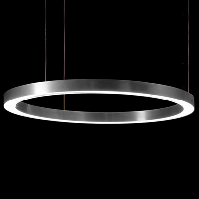 Henge Light Ring Horizontal D90 Nickel
