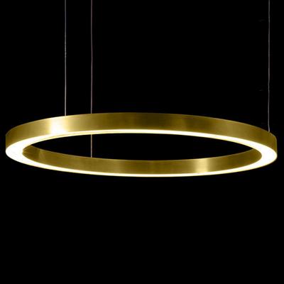 Henge Light Ring Horizontal D90 Brass