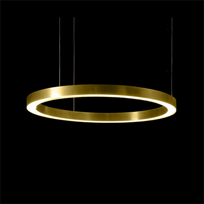 Henge Light Ring Horizontal D80 Brass