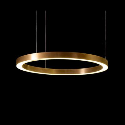 Henge Light Ring Horizontal D70 Copper