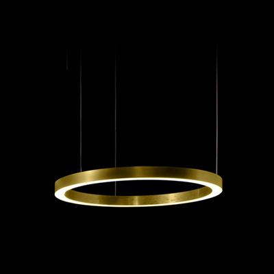 Henge Light Ring Horizontal D50 Brass
