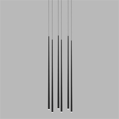 Vibia Slim 6 Black Rectangle  Jordi Vilardell