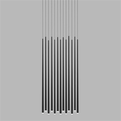 Vibia Slim 13 Black Rectangle  Jordi Vilardell