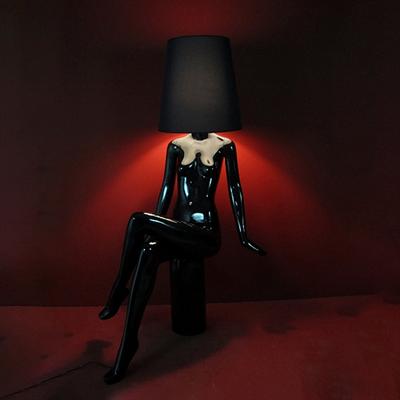 Торшер SOHO Studio Lady черная женщина