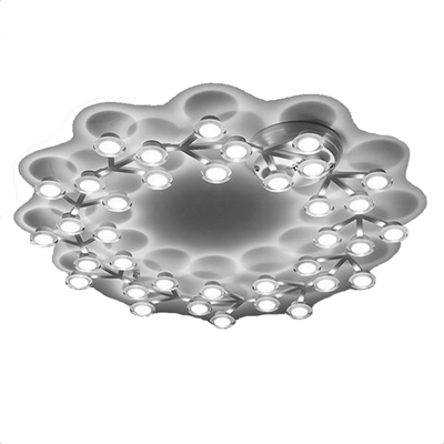 Artemide Led Net Circle D90 светильник настенно-потолочный LED*36