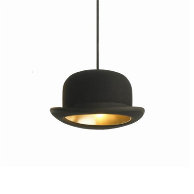 Светильник Jeeves Bowler Hat Pendant by Jake Phillips