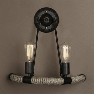 Светильник настенный Arco Loft Vintage Filament Rope