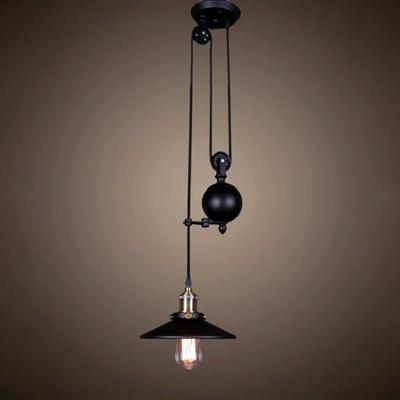 Светильник подвесной Cone Factory Filament Reflector с противовесом