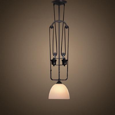Светильник подвесной лофт Industrial Pendant Glass