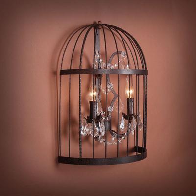 Светильник настенный Steampunk Birdcage Pendant
