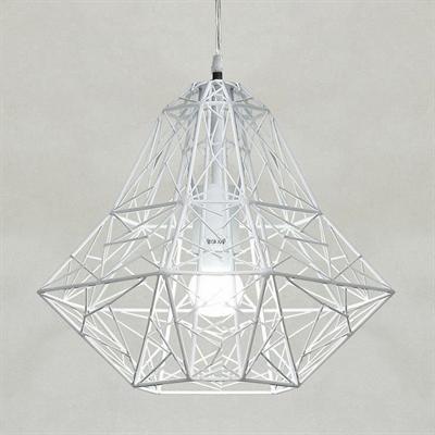 Светильник Loft Polygon Betta белая