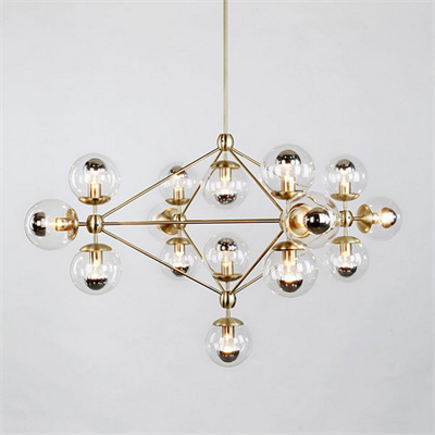 Люстра Modo Chandelier 15 Gold - фото 24933