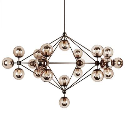 Люстра Modo Chandelier 21 Globes в стиле Roll & Hill - фото 24934