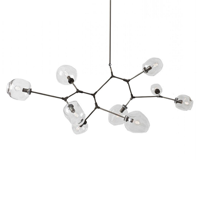 Люстра Branching Bubbles 9 Black - фото 26245