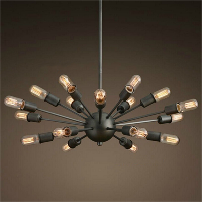 Люстра Loft Sputnik Chandelier Elliptical - фото 26713