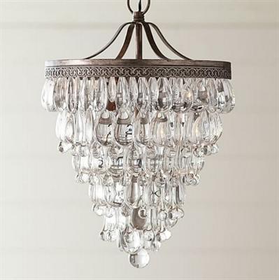 Люстра Clarissa Crystal Drop Sconce Hanging - фото 26807
