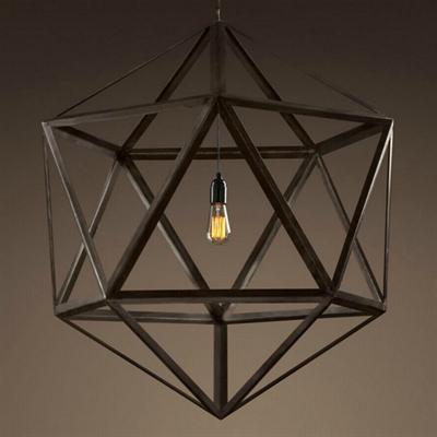 Люстра Loft Sleel Polyhedron Big - фото 26843