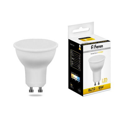 Лампа светодиодная Feron LB-560 MR16 GU10 9W 2700K - фото 27271