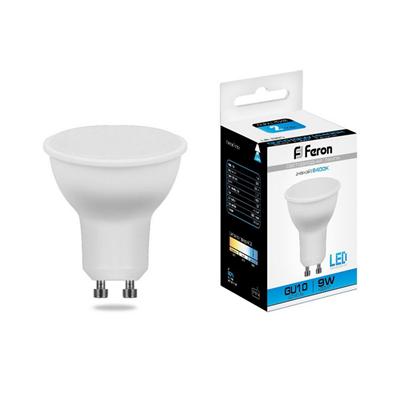 Лампа светодиодная Feron LB-560 MR16 GU10 9W 6400K - фото 27273
