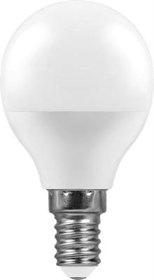 Лампа светодиодная Feron LB-750 Шарик E14 11W 4000K - фото 27300