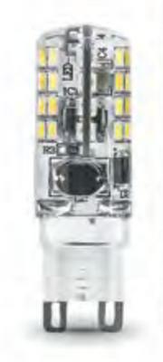 Лампа светодиодная Gauss LED G9 AC185-265V 3W 4100K 1/20/200 диммируемая - фото 27333