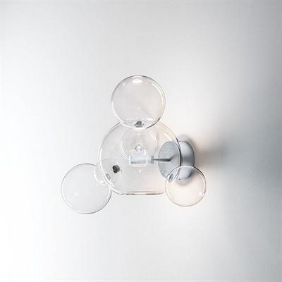 Настенный светильник Bolle Wall 06 Bubbles Nickel - фото 27379