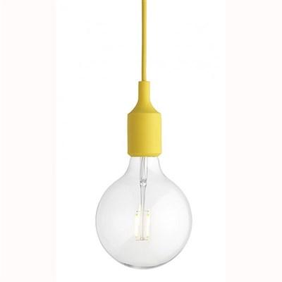 Светильник E27 Color Желтый - фото 28819