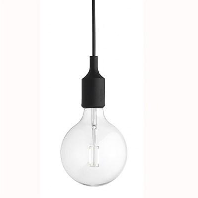 Светильник E27 Color Черный - фото 28837