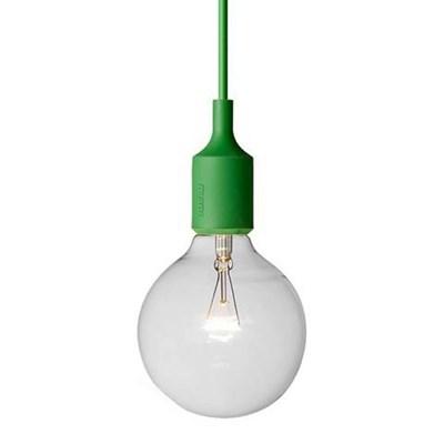 Светильник E27 Color Зеленый - фото 28847