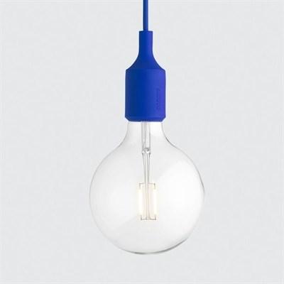 Светильник E27 Color Синий - фото 28855