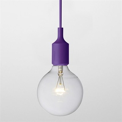 Светильник E27 Color Фиолетовый - фото 28866