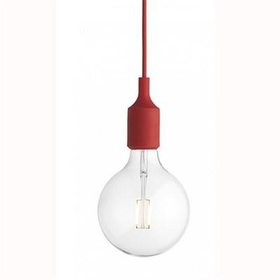 Светильник E27 Color Красный - фото 28874