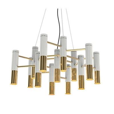 Люстра Ike 19 Lamp Белый+Золотой - фото 29064