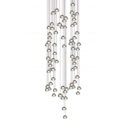 Светильник подвесной Mizu 72 Seventy Two Pendant Chandelier 150x45 - фото 29569