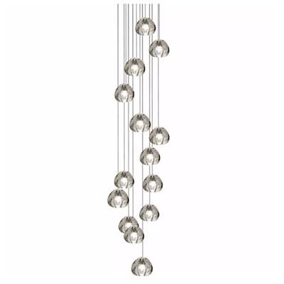 Светильник подвесной Mizu 14 Fourteen Pendant Chandelier 50x50 - фото 29579
